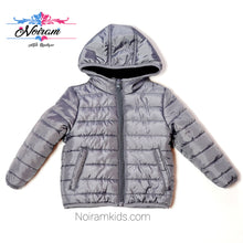 Load image into Gallery viewer, Cat Jack Grey Boys Puffer Jacket 18M Used View 1