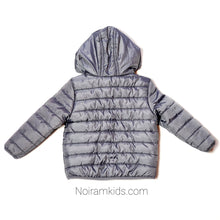 Load image into Gallery viewer, Cat Jack Grey Boys Puffer Jacket 18M Used View 2