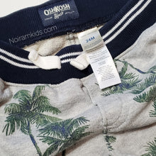 Load image into Gallery viewer, Oshkosh Bgosh Palm Tree Boys Shorts 24M Used View 4