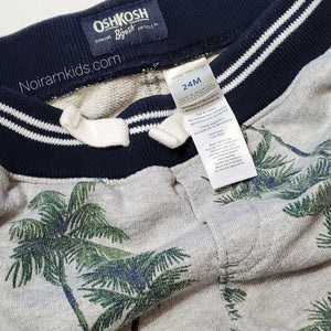 Oshkosh Bgosh Palm Tree Boys Shorts 24M Used View 4