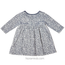 Load image into Gallery viewer, Old Navy Grey White Patterned Girls Dress Used View 3