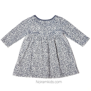 Old Navy Grey White Patterned Girls Dress Used View 3