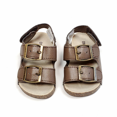 Gymboree Baby Brown Sandals Size 01 Used View 1