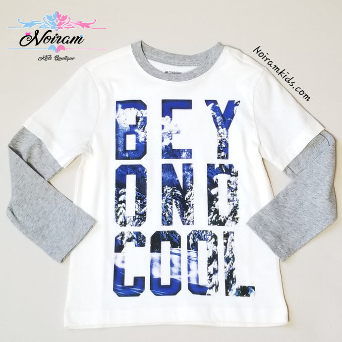 Gymboree Boys Beyond Cool Graphic Tee XS NWT