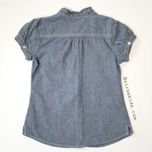 Gymboree Denim Shirt Girls Size 12 Used View 2