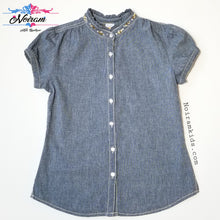 Load image into Gallery viewer, Gymboree Denim Shirt Girls Size 12 Used