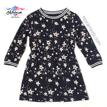 Load image into Gallery viewer, Gymboree Toddler Girls Star Print Sweater Dress Used View 1