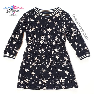 Gymboree Toddler Girls Star Print Sweater Dress Used View 1