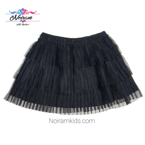 Hanna Andersson Black Girls Skirt 2T NWT View 1
