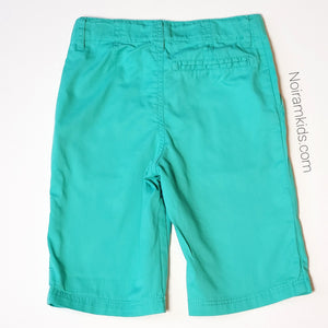 HM Boys Green Shorts Size 5 Used View 2