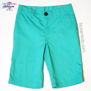 HM Boys Green Shorts Size 5 Used View 1