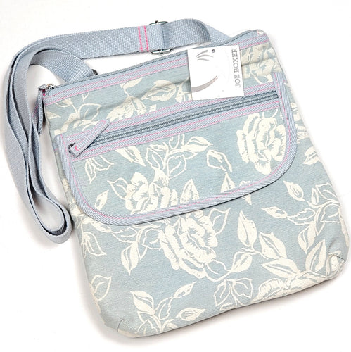 NWT Joe Boxer Denim Floral Girls Purse View 1