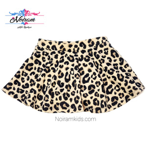Jumping Beans Leopard Girls Skirt 24M Used View 1