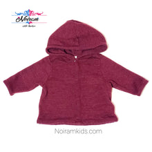 Load image into Gallery viewer, Old Navy Maroon Baby Boys Hoodie Used View 1