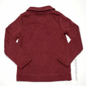 Sonoma Maroon Boys Cardigan Sweater Size 10 Used View 2