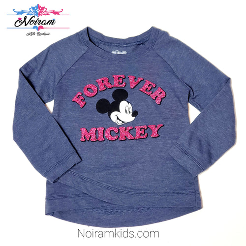 Disney Mickey Mouse Girls Sweatshirt Size 6 Used View 1
