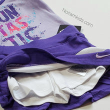 Load image into Gallery viewer, NWT Nike Baby Girls Two Piece Skort Set View 2