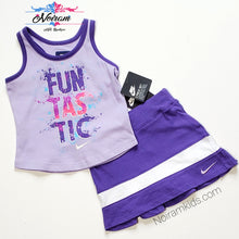 Load image into Gallery viewer, NWT Nike Baby Girls Two Piece Skort Set View 1