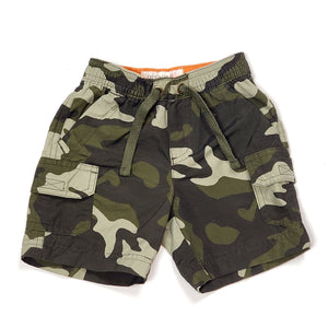 Old Navy Boys Camo Shorts 12M Used View 1