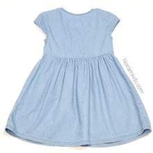 Load image into Gallery viewer, Old Navy Chambray Denim Girls Dress 2T Used View 2