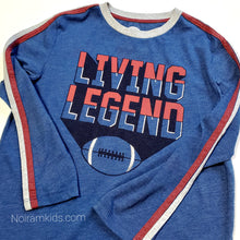 Load image into Gallery viewer, Old Navy Boys Football Graphic Tee Used View 2