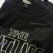 Load image into Gallery viewer, Old Navy Kids The Future Graphic Tee Black Used View 2