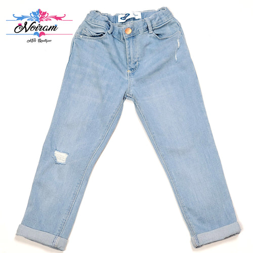Distressed Old Navy Girls Boyfriend Jeans 4T Used View 1