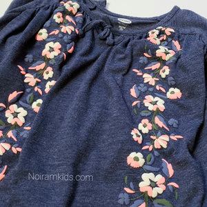 Old Navy Girls Floral Poncho Top Used View 3