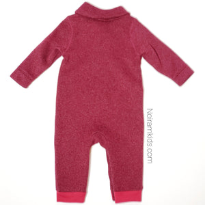 Old Navy Boys Maroon Sweater One Piece Used View 2