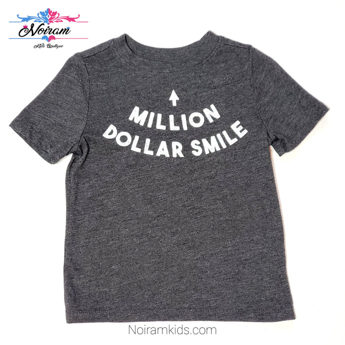 Old Navy Million Dollar Smile Boys Shirt 2T Used View 1