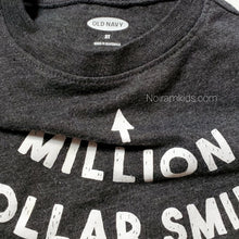 Load image into Gallery viewer, Old Navy Million Dollar Smile Boys Shirt 2T Used View 3