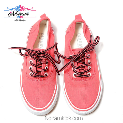 Old Navy Pink Girls Sneakers Size 11 Used View 1