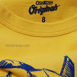 Oshkosh Airplane Graphic Boys Shirt Used View 3