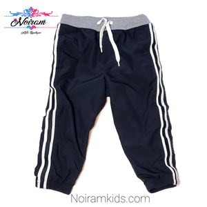 Oshkosh Black Jersey Lined Boys Pants 2T Used View 1