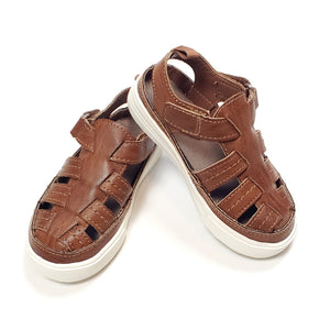 Oshkosh Boys Brown Sandals Size 7 NWT View 2