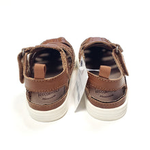 Load image into Gallery viewer, Oshkosh Boys Brown Sandals Size 7 NWT View 4