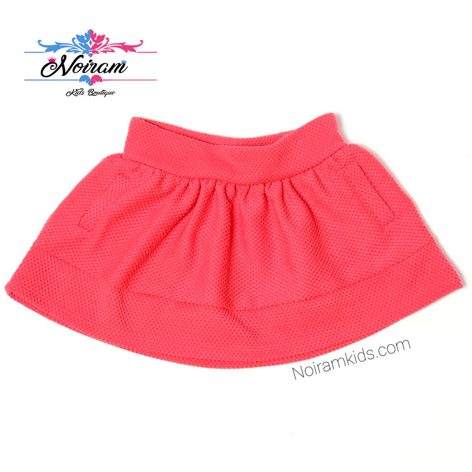 Genuine Kids Oshkosh Pink Girls Skirt 18M Used View 1