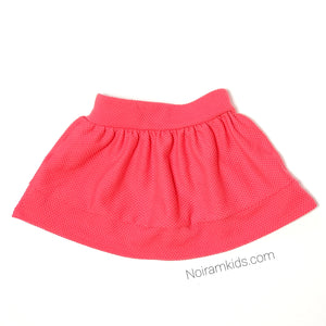 Genuine Kids Oshkosh Pink Girls Skirt 18M Used View 2