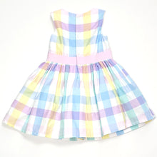 Load image into Gallery viewer, Carters Pastel Plaid Girls Dress 24M NWT View 2