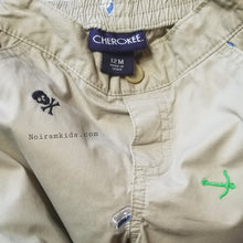Load image into Gallery viewer, Cherokee Baby Boy Pirate Khaki Pants 12M Used View 4