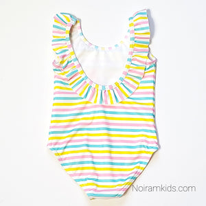 NWT Primark Baby Girls Watermelon Swimsuit View 3