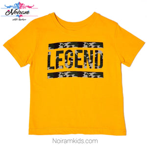 Primark Yellow Legend Boys Shirt Used View 1