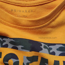 Load image into Gallery viewer, Primark Yellow Legend Boys Shirt Used View 3
