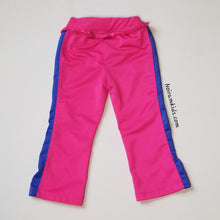 Load image into Gallery viewer, Puma Pink Blue Ruffle Waist Pants Toddler Girls 2T Image 2