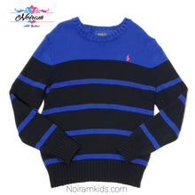 Load image into Gallery viewer, Polo Ralph Lauren Blue Boys Sweater Size 8 Used View 1
