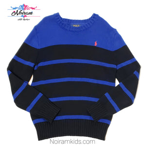 Polo Ralph Lauren Blue Boys Sweater Size 8 Used View 1