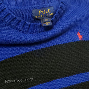 Polo Ralph Lauren Blue Boys Sweater Size 8 Used View 3
