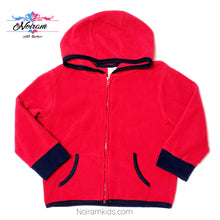 Load image into Gallery viewer, Gymboree Red Zip Up Boys Fleece Jacket 2T Used View 1