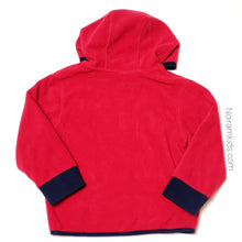 Load image into Gallery viewer, Gymboree Red Zip Up Boys Fleece Jacket 2T Used View 2