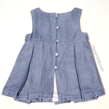 Load image into Gallery viewer, Tahari Blue Baby Girl Dress 12M NWT View 2